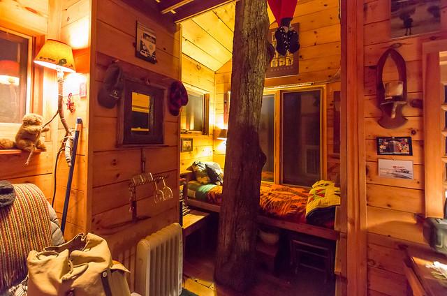 The Tiny Fern Forest Treehouse - Lincoln, VT - 2013, Feb - 09.jpg