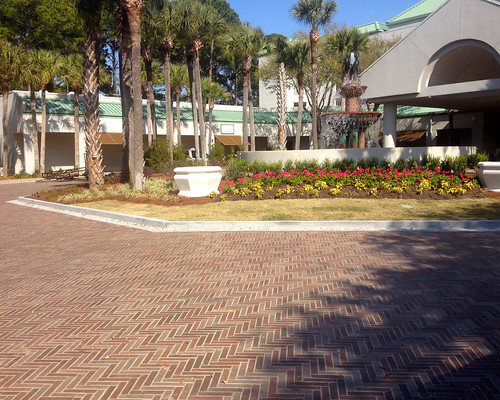 Westin Hotel, Hilton Head Island, SC 2.25x9x2.25 Boardwalk Blend 44 Mahogany, 53 Cimmerian, 54 Chocolate (1) | by Whitacre Greer