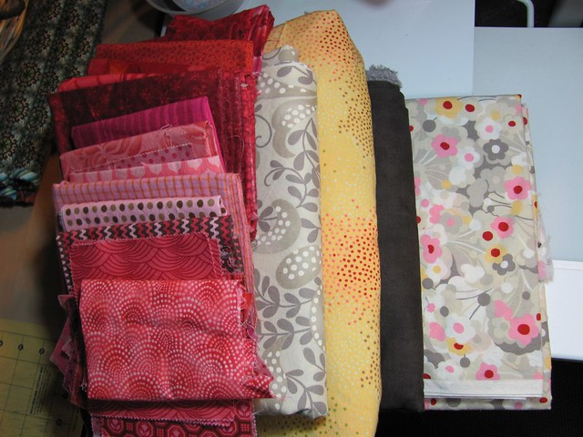 Fabrics for Inklingo mystery