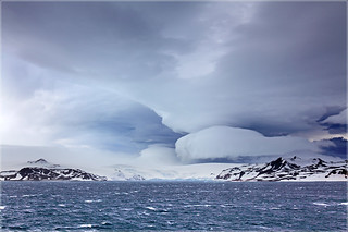 Stormy Antarctica