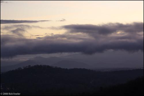 sky mountains clouds landscape unitedstates asheville northcarolina smokymountains mtpisgah