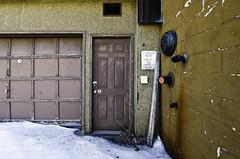 Levines Doorway; Waterville, Maine