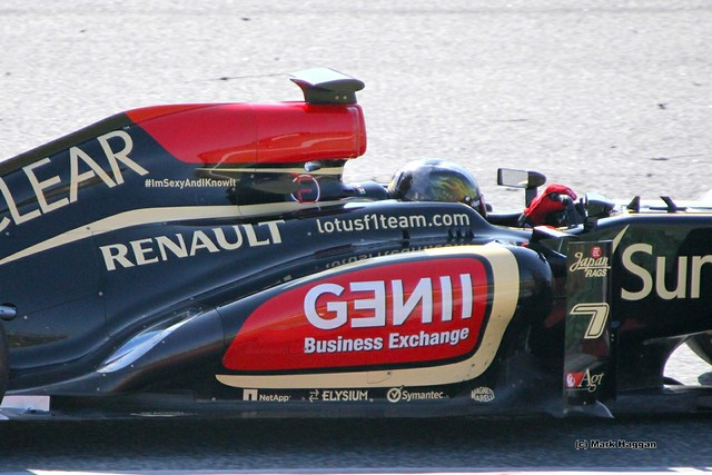 Davide Valsecchi in the Lotus at Formula One Winter Testing, March 2013