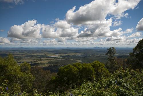 autumn australia qld tamborine