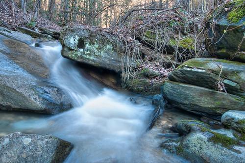 road rock creek forest river waterfall turtle national waterfalls cherokee turtlerock