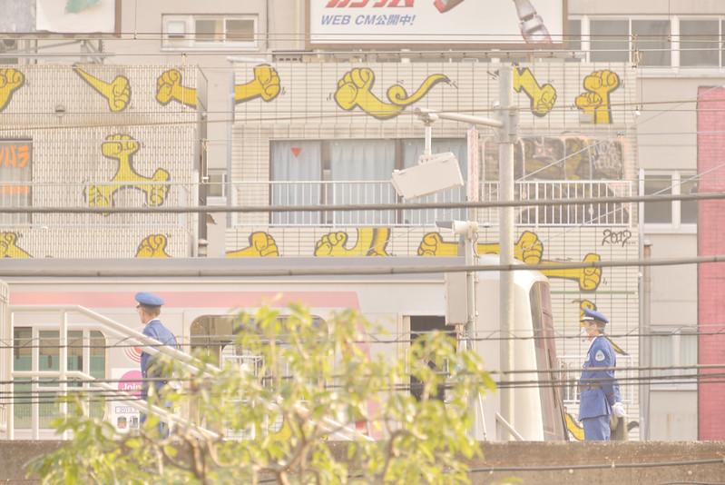 ビルのあいだから (東横線旧渋谷駅) by Noël Café