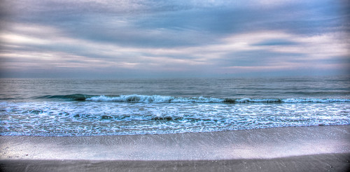 ocean morning usa beach water clouds america sunrise dawn us sand surf waves unitedstates florida cloudy over wave melbourne atlantic fl melbournebeach fla hdr daybreak mygearandme