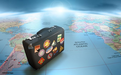 Globe-Map-Suitcase-Travel-1800x2880 | by Will Spark