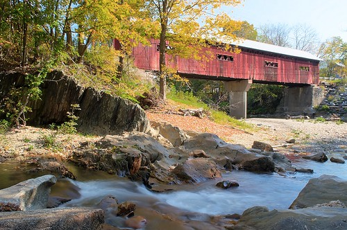 bridge station vermont covered vt northfieldfalls afsdxvrzoomnikkor1855mmf3556g