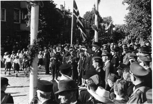 Sarpsborg juli 1942