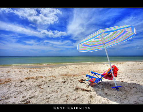 ocean sea vacation sun beach umbrella sand surf florida tide clearwaterbeach clearwater canon5dmarkii