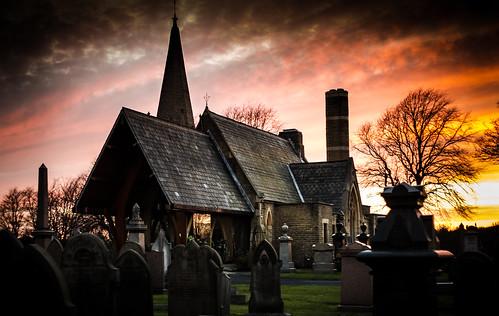 church cemetery grave yard canon lancashire crematorium accrington 600d