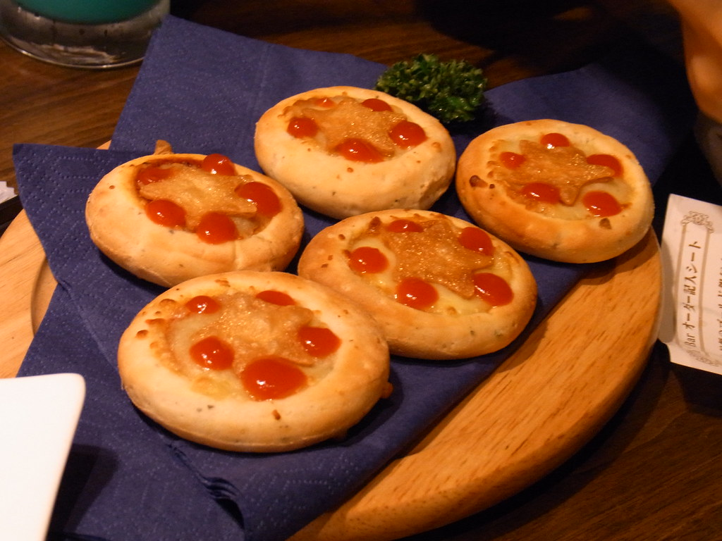 小さなメダルピザ
