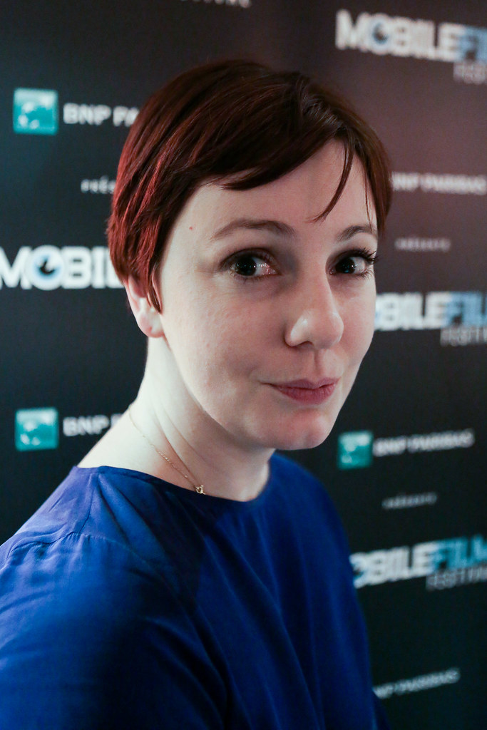 Amandine LEBRAT, membre du jury | Mobile Film Festival | Flickr