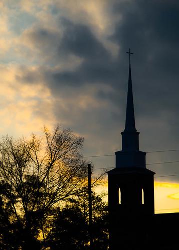 sun sc church sunrise pentax lexington steeple tamron18200 lexingtonunitedmethodistchurch pentaxk30