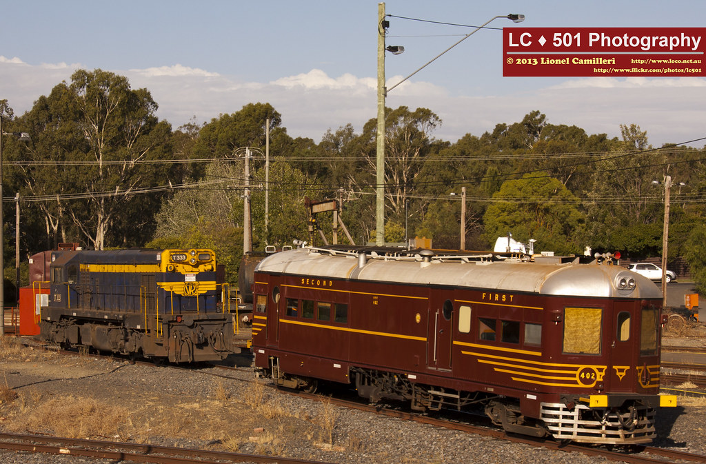 T333 and HPC 402 sharing the road by LC501