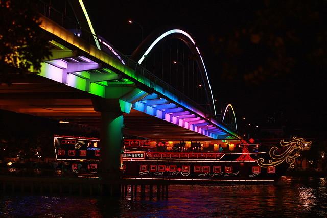 Jiefang Bridge, Guangzhou, China 中国广州解放大桥