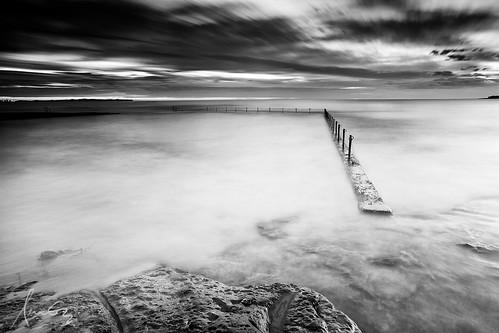 Oak Park Ocean Baths - Cronulla   by sachman75