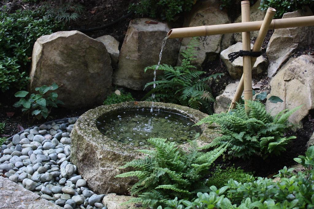 Fontaine japonaise | Jardin japonais à Meudon (92) Conceptio ...