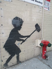 Help Zabars Save this Banksy Graffiti Street Art 3619