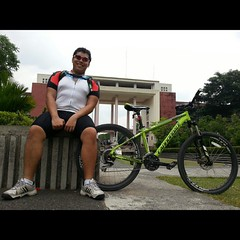 Me and #ventus :) first UP diliman ride ever! Hahaha
