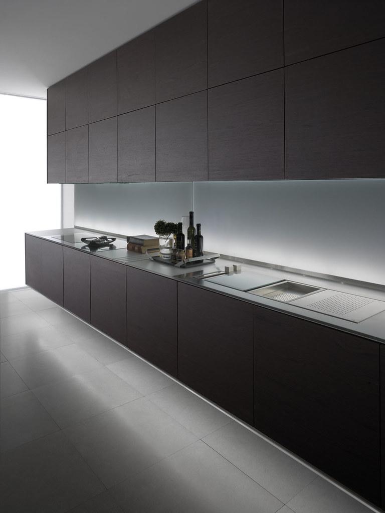 meubles-de-cuisines-contemporaines-pour-cuisine-en-longueu ...