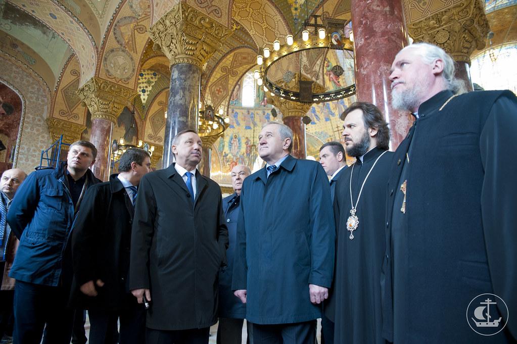 27 апреля 2013, Заседание Оргкомитета по подготовке к празднованию 100-летия Никольского Морского собора