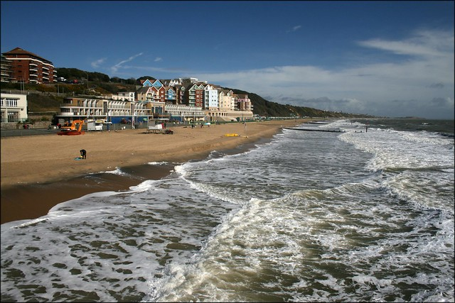 View from Boscombe Pier
