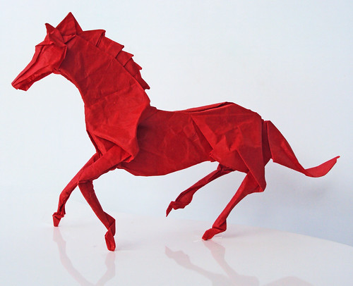 Horse by Satoshi Kamiya, folded by me