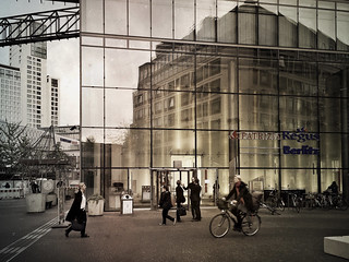 Building Reflected - Reflection in the Street | by karen axelrad (karenaxe)