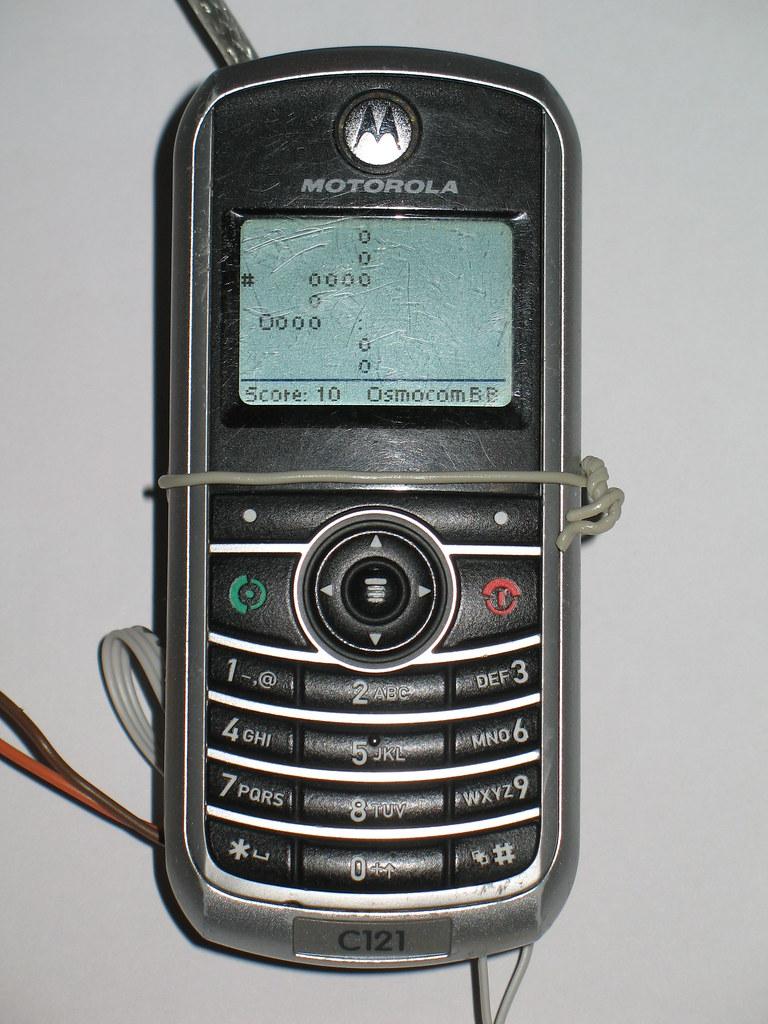 Motorola C121 OsmocomBB Snake | The game Snake implemented a… | Flickr