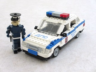 Moscow traffic police Lada 110 (1) | by Mad physicist