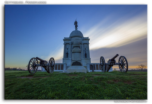 longexposure bulb sunrise pennsylvania gettysburg civilwar pennsylvaniamonument