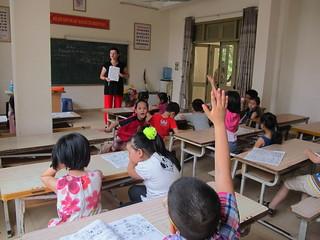 Teaching in Vietnam   by Volunteer Thailand