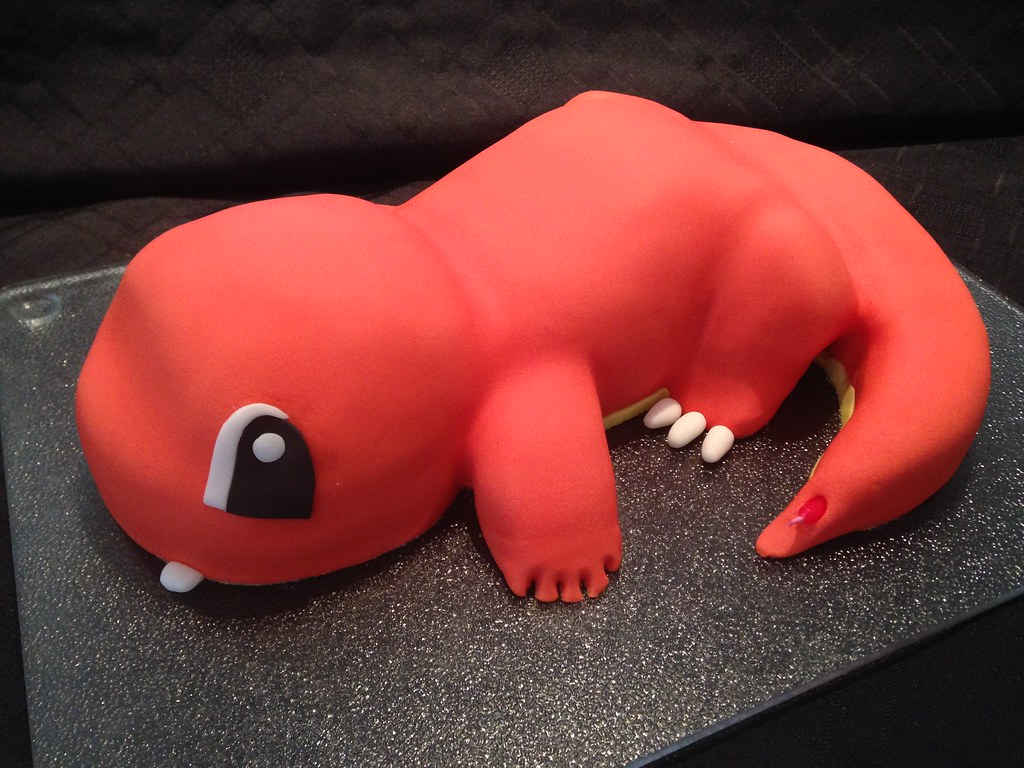 Charmander From Pokemon Birthday Cake Debbie Windsor