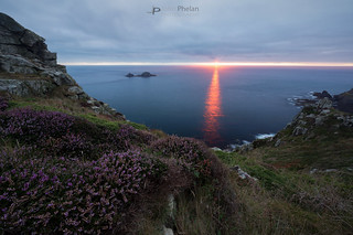 Carn gloose heather and sunset | by T_J_P
