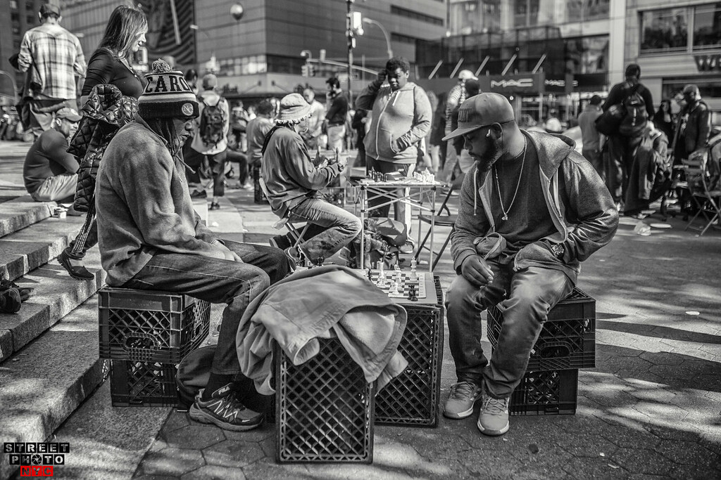 Chess Game Street Photo NYC | Street Photo NYC | Flickr
