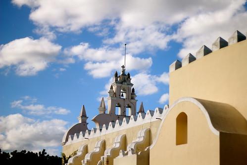 A church in Merida, Mexico