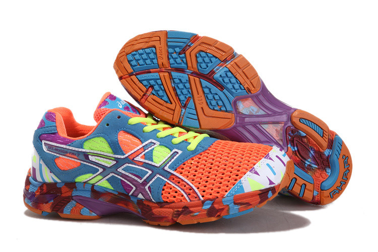 the best attitude 14256 bfbbc ... Asics Gel Noosa TRI 7 Mens Running Shoe Orange Sky Blue   by  asicsgelrunning.com