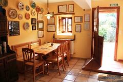 Comedor. Casas Rurales Pradina