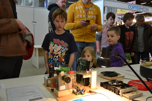 Helsinki Hacklab at Model Expo 2013 | by Hannu-Makarainen