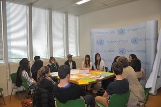 Simulation conference on integration of young refugees