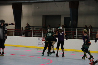Punchy Brewsters vs. Naughty Pines Derby Dames | by David Gravee