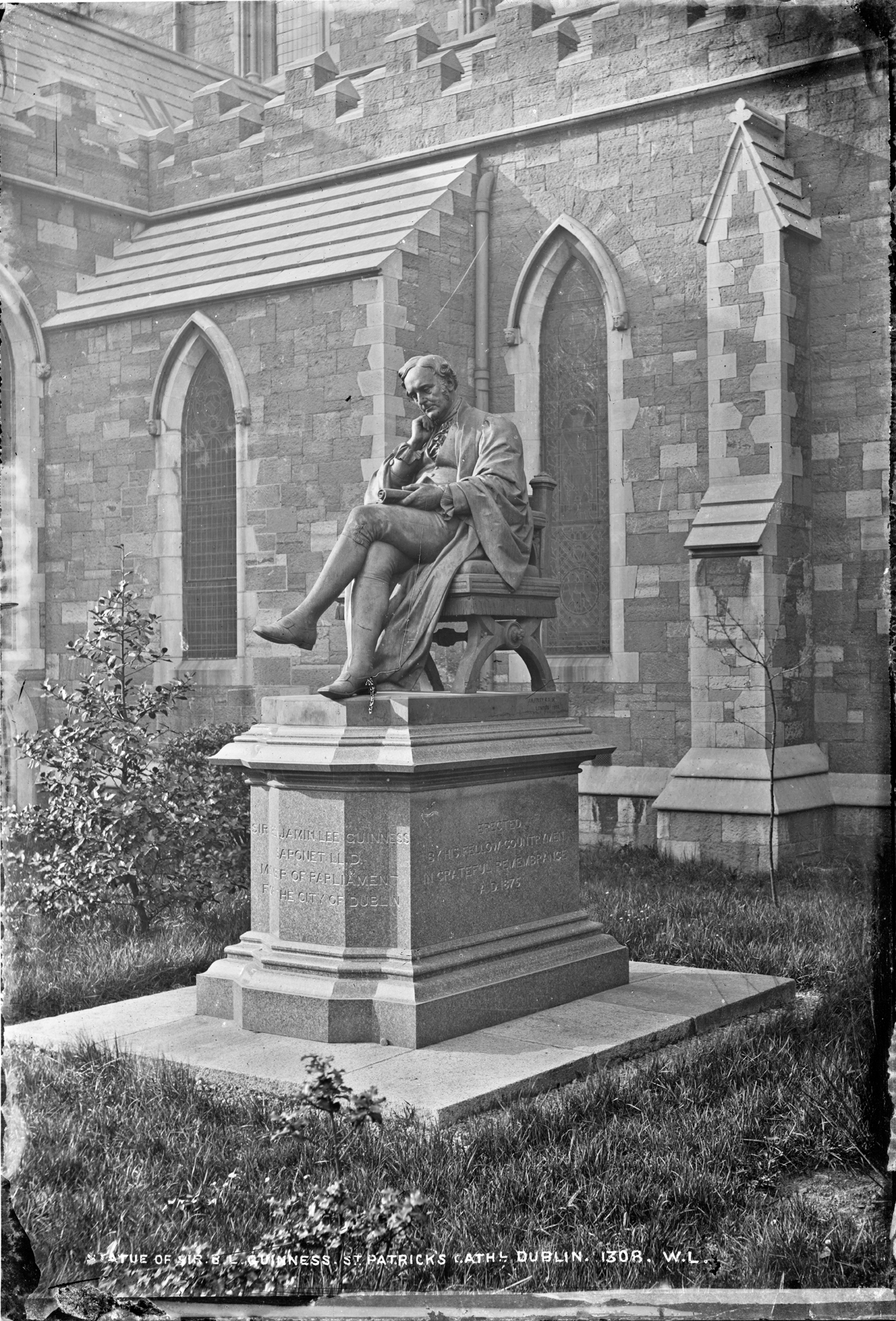 Statue of Sir B.L. Guinness, St. Patricks Cathedral, Dublin