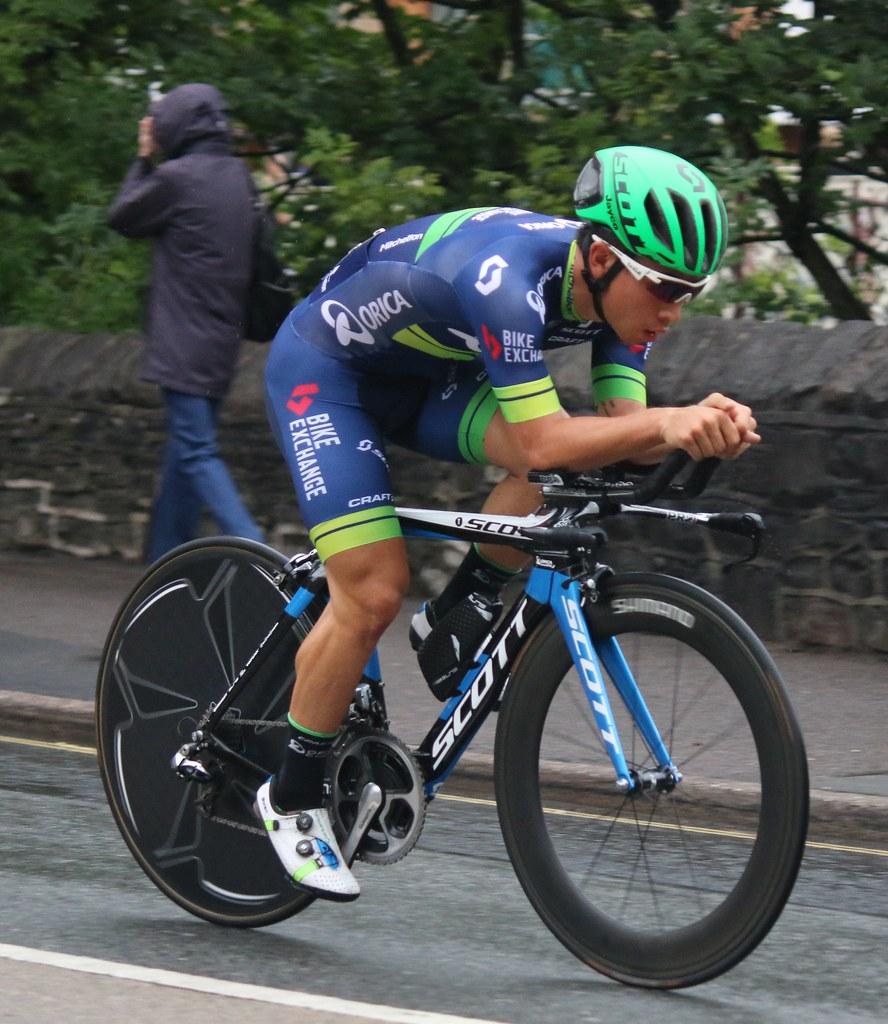 Caleb Ewan of Orica Bike ...