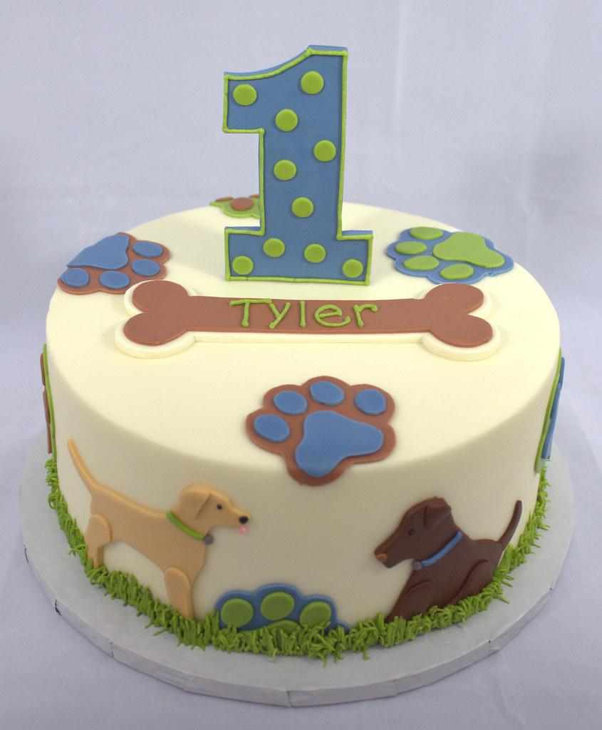 Tremendous Puppy Dog Birthday Cake Sara Mayes Flickr Personalised Birthday Cards Akebfashionlily Jamesorg