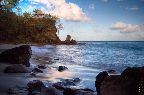 beach stlucia saintlucia grosislet capestate capmaison