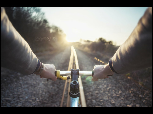 sunset bike train canon 5d 24mm 52 5215 52weeksproject