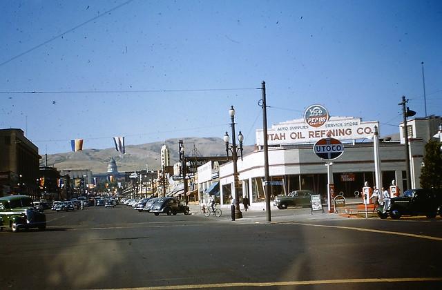 Utoco station, Salt Lake City, July 1949