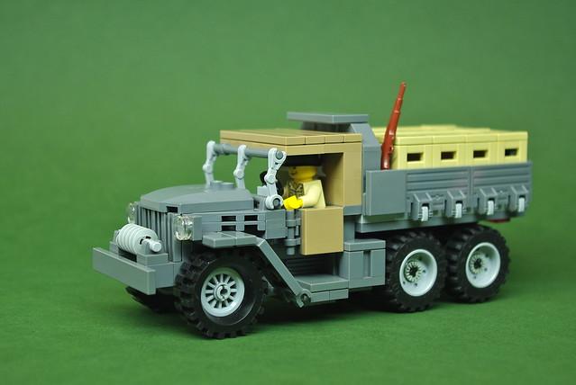 GMC CCKW Dump Truck - Short Wheel Base (1)
